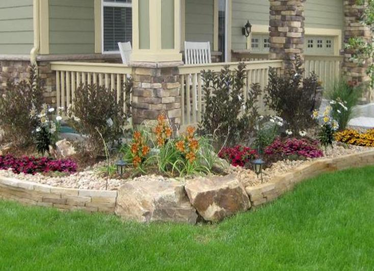 Tuscan Front Yard Landscaping: Tuscan Front Yard Landscape